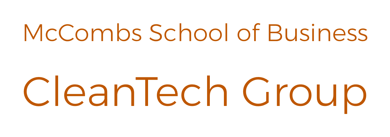 CleanTech Group at McCombs School of Business
